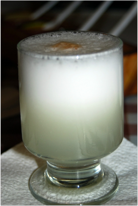 Peruwiańskie pisco sour